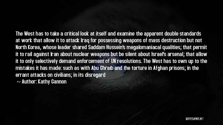 War In Middle East Quotes By Kathy Gannon