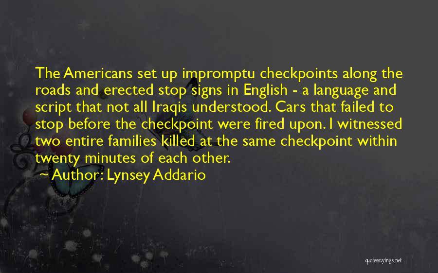 War In Middle East Quotes By Lynsey Addario