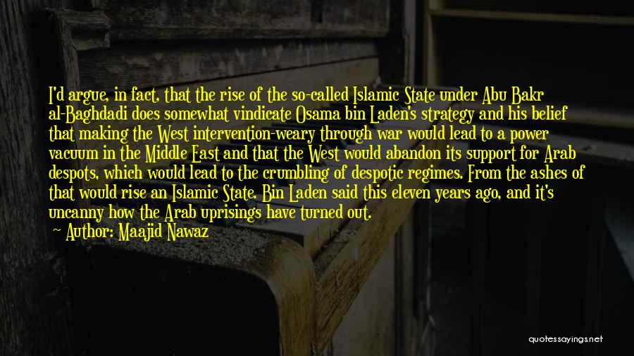 War In Middle East Quotes By Maajid Nawaz