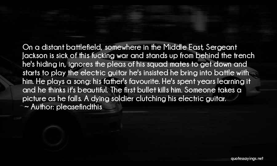 War In Middle East Quotes By Pleasefindthis