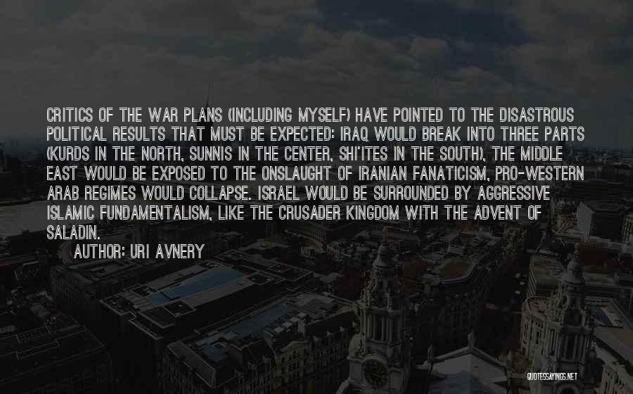 War In Middle East Quotes By Uri Avnery
