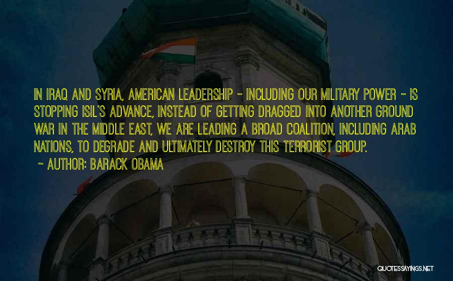 War In Syria Quotes By Barack Obama