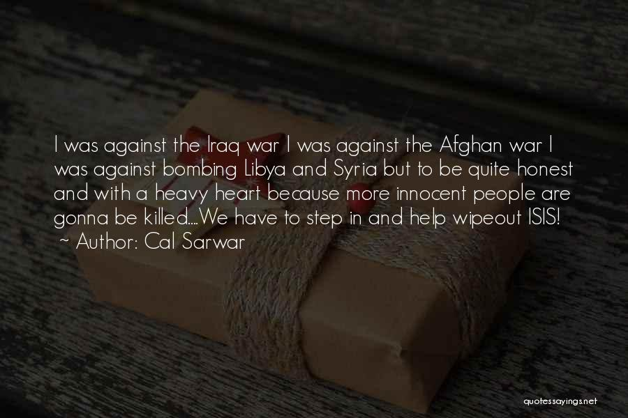 War In Syria Quotes By Cal Sarwar