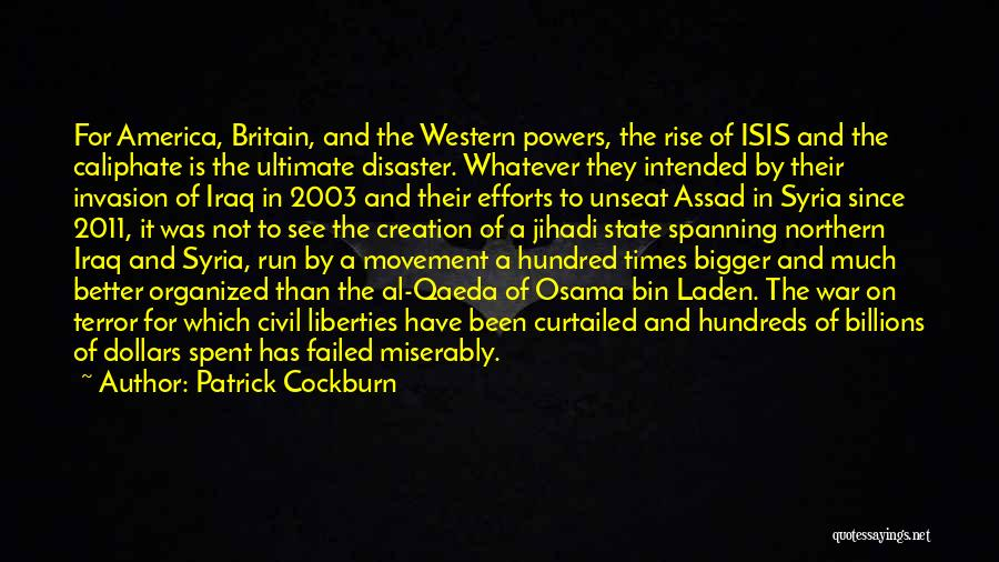War In Syria Quotes By Patrick Cockburn