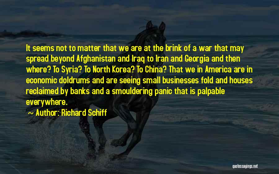 War In Syria Quotes By Richard Schiff