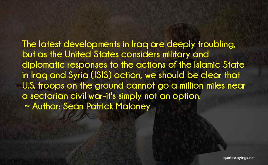 War In Syria Quotes By Sean Patrick Maloney