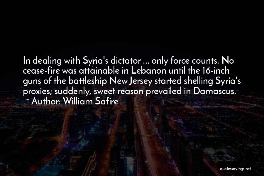 War In Syria Quotes By William Safire
