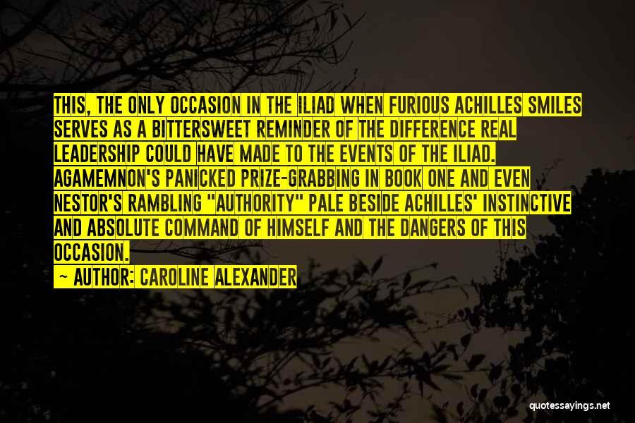 War In The Iliad Quotes By Caroline Alexander