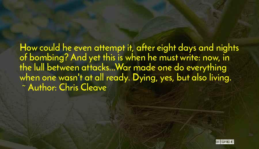 War Ready Quotes By Chris Cleave