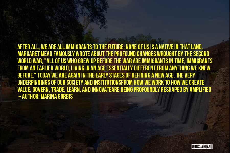 War Ready Quotes By Marina Gorbis