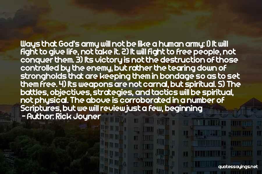 War Ready Quotes By Rick Joyner