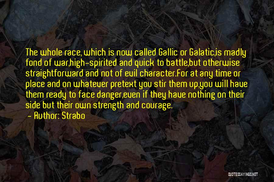 War Ready Quotes By Strabo