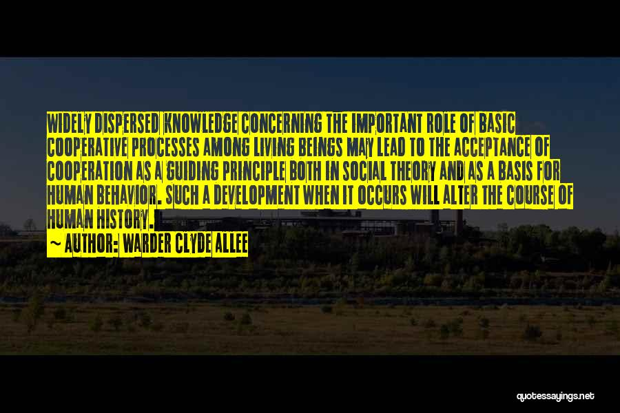 Warder Clyde Allee Quotes 696304