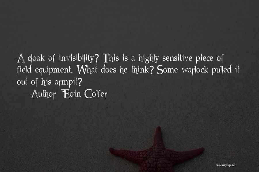 Warlock Quotes By Eoin Colfer