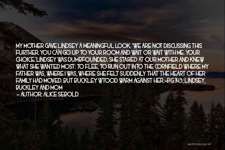Warm Me Up Quotes By Alice Sebold