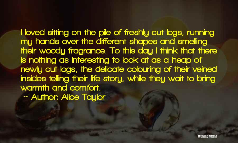 Warmth And Comfort Quotes By Alice Taylor