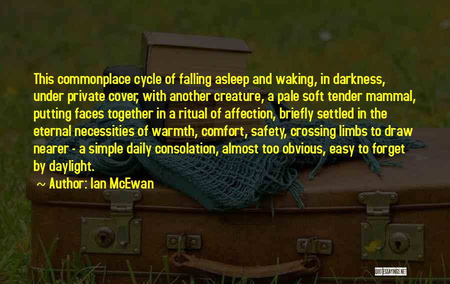Warmth And Comfort Quotes By Ian McEwan