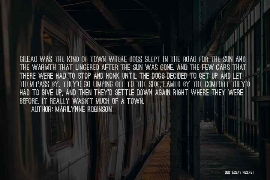 Warmth And Comfort Quotes By Marilynne Robinson