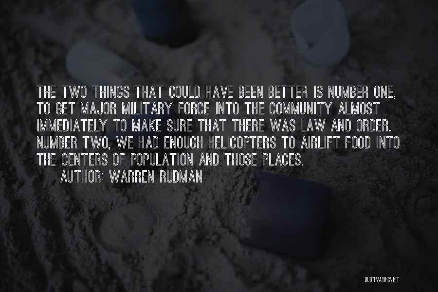 Warren Rudman Quotes 1279395