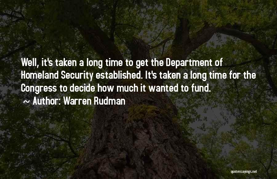 Warren Rudman Quotes 218643