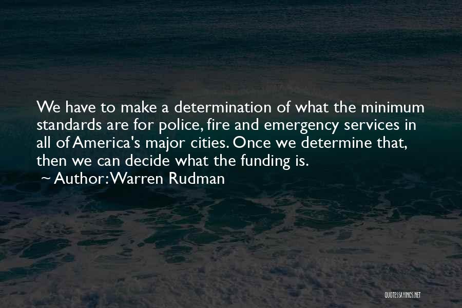 Warren Rudman Quotes 268505
