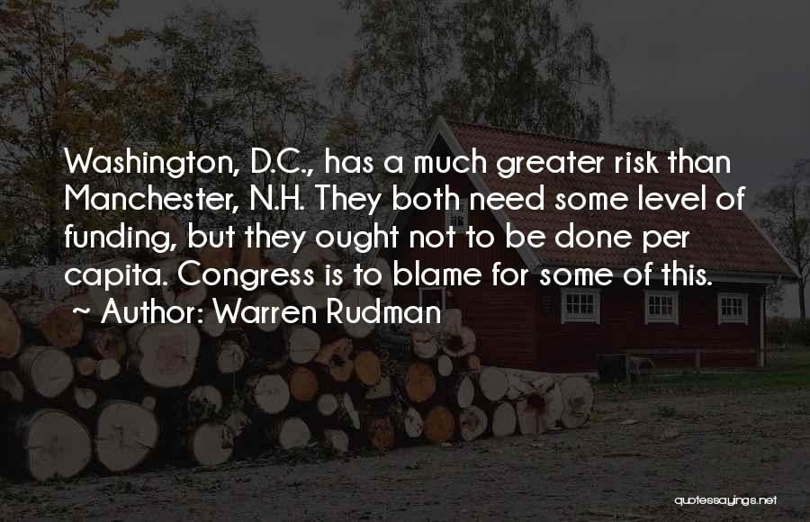 Warren Rudman Quotes 308029