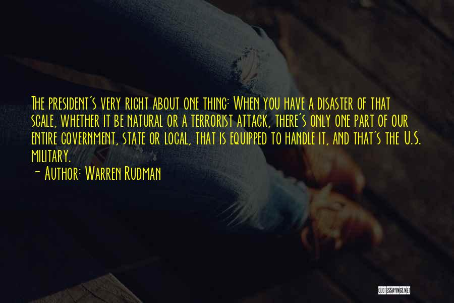 Warren Rudman Quotes 611444