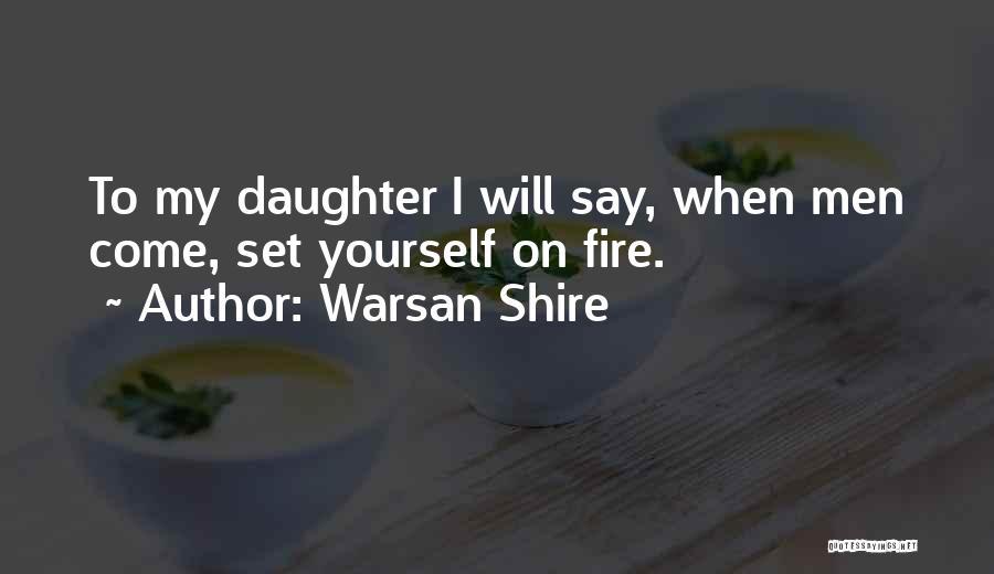 Top 75 Warsan Quotes & Sayings