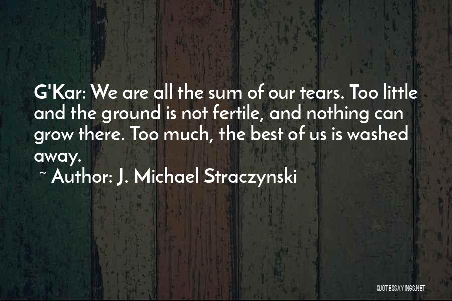 Washed Away Quotes By J. Michael Straczynski