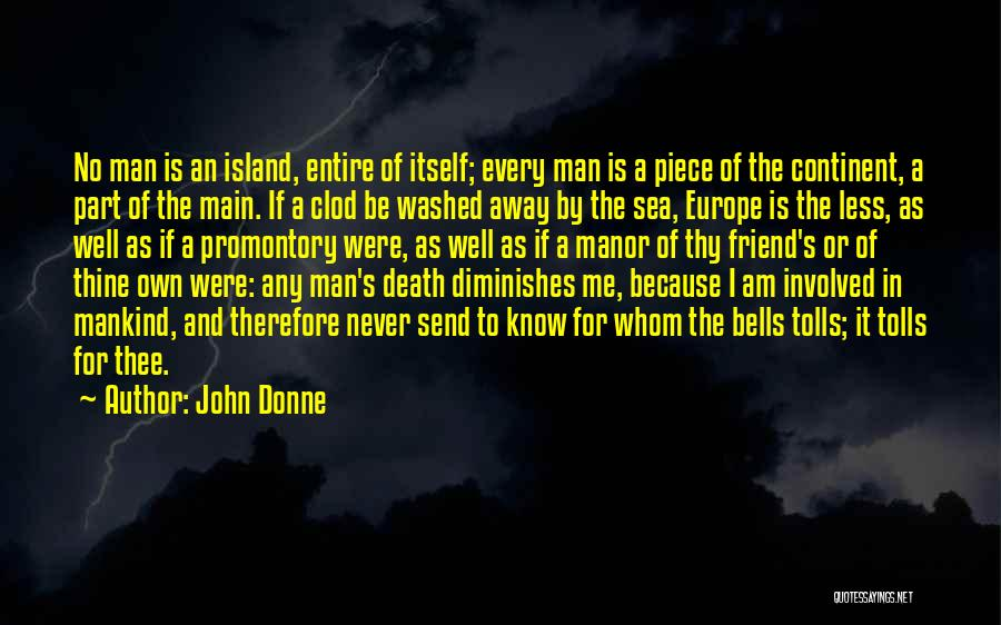 Washed Away Quotes By John Donne