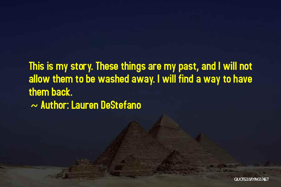 Washed Away Quotes By Lauren DeStefano