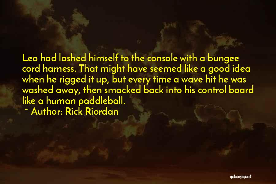 Washed Away Quotes By Rick Riordan