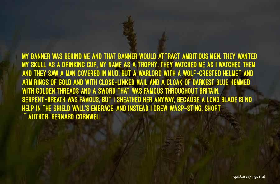Wasp Sting Quotes By Bernard Cornwell