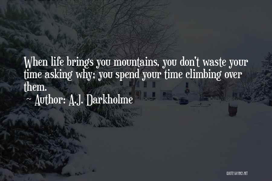 Waste Effort Quotes By A.J. Darkholme