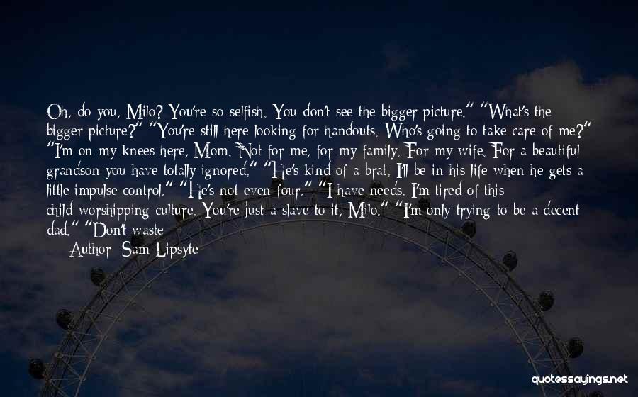 Waste Effort Quotes By Sam Lipsyte