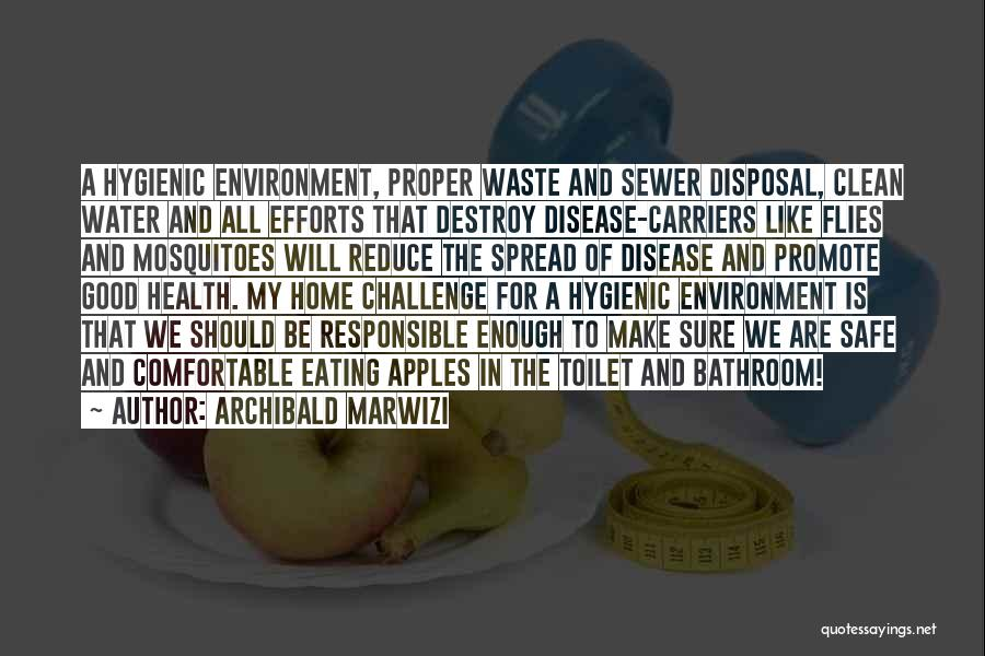 Waste Of Life Quotes By Archibald Marwizi