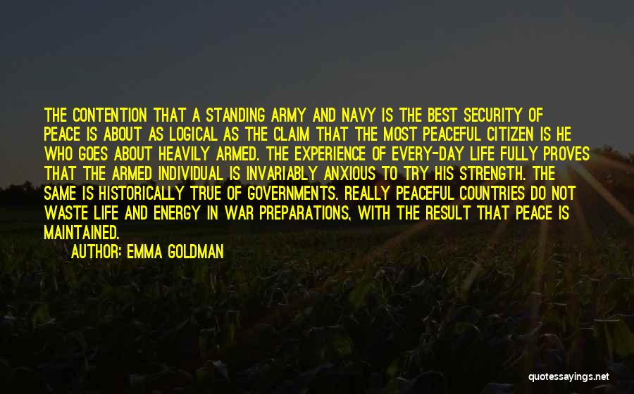 Waste Of Life Quotes By Emma Goldman
