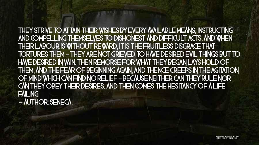 Wasting Life Quotes By Seneca.