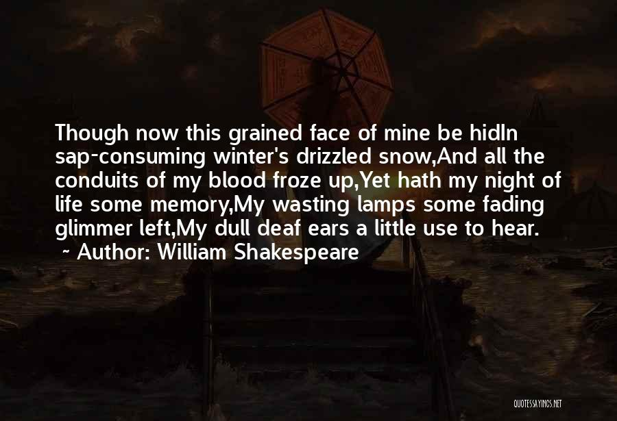 Wasting Life Quotes By William Shakespeare
