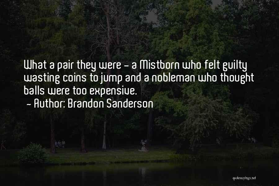 Wasting Money Quotes By Brandon Sanderson