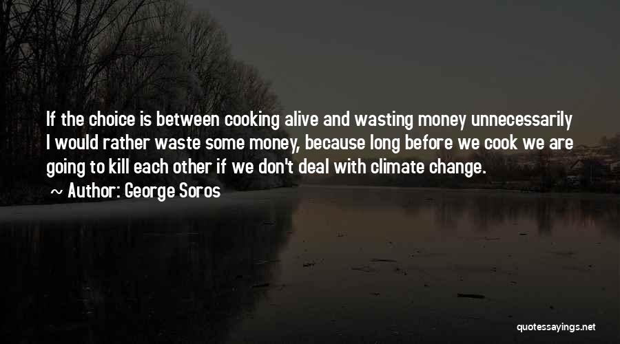Wasting Money Quotes By George Soros