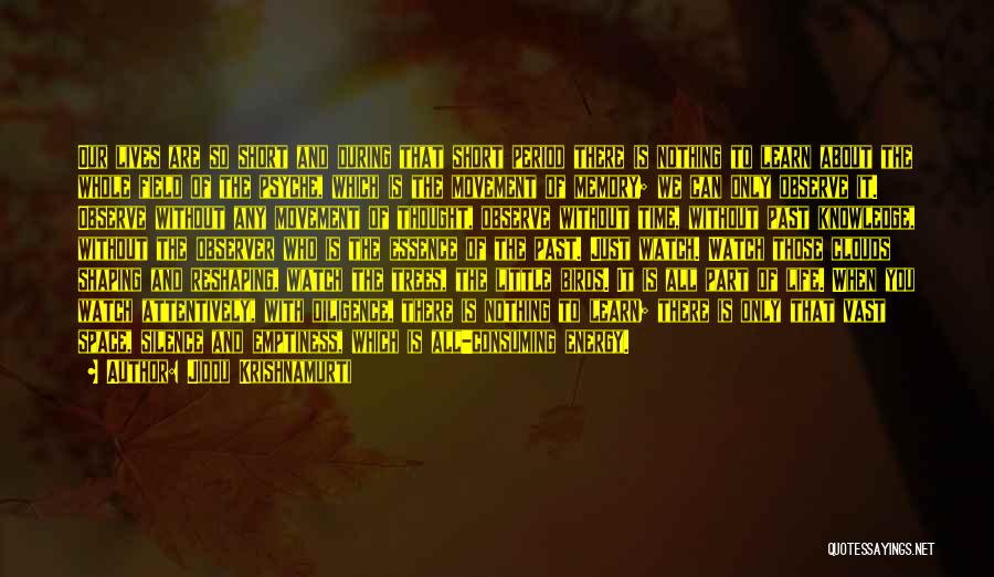 Watch And Observe Quotes By Jiddu Krishnamurti