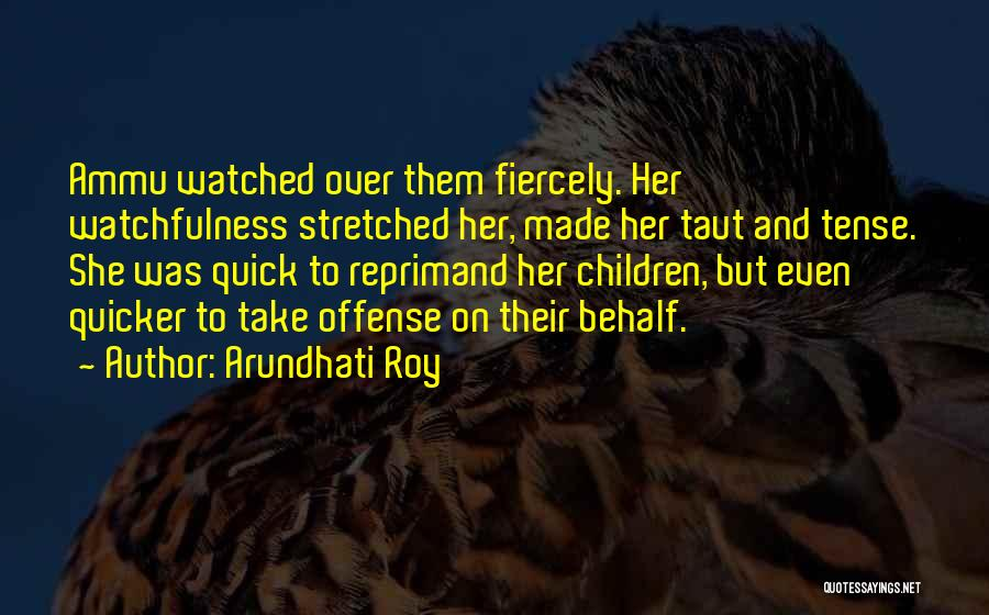 Watchfulness Quotes By Arundhati Roy