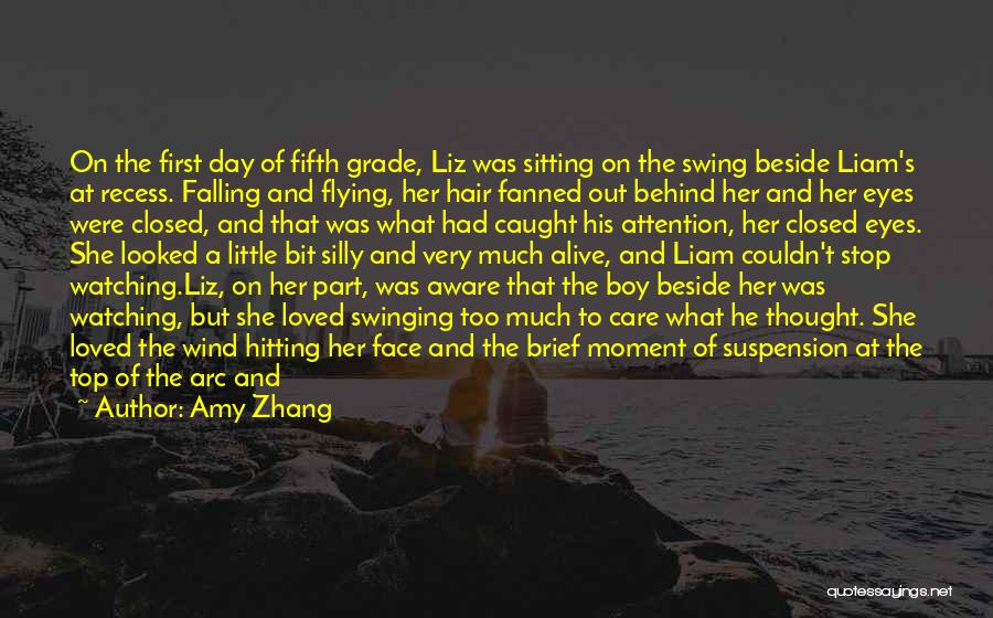 Watching Someone Die Quotes By Amy Zhang