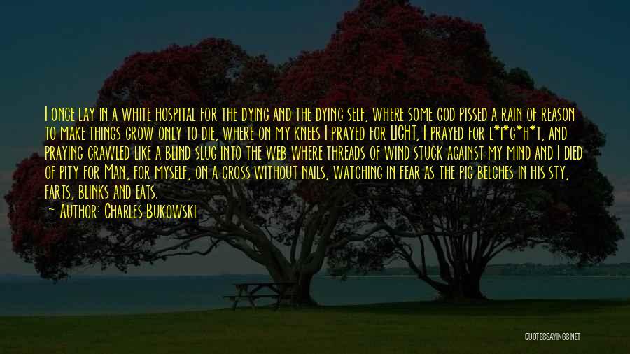 Watching Someone Die Quotes By Charles Bukowski