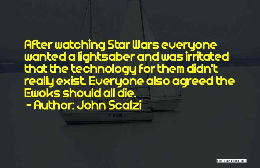Watching Someone Die Quotes By John Scalzi