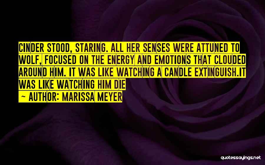 Watching Someone Die Quotes By Marissa Meyer