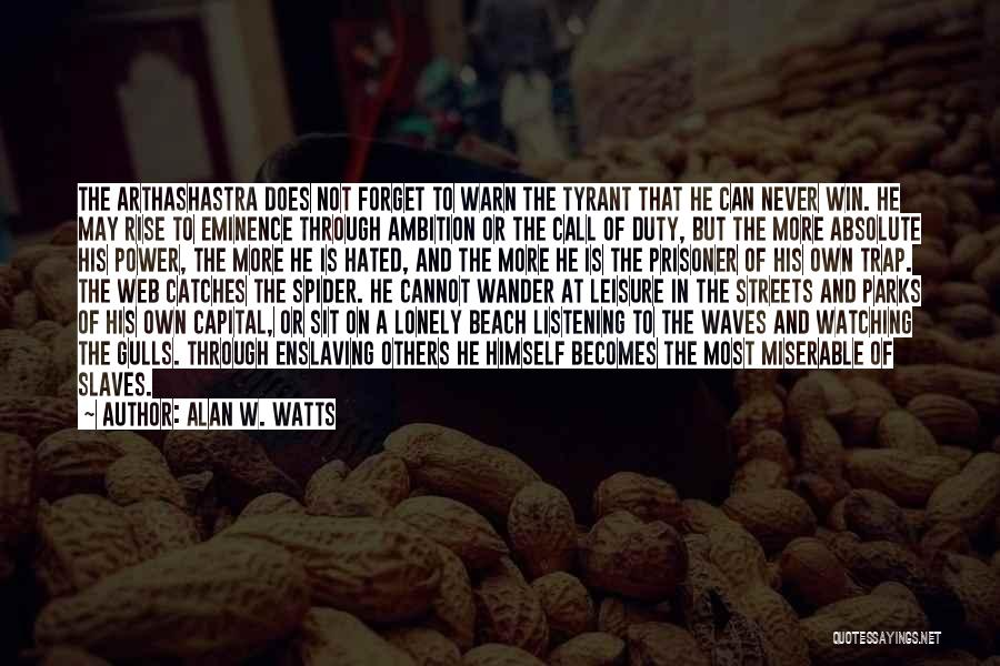 Watching Waves Quotes By Alan W. Watts
