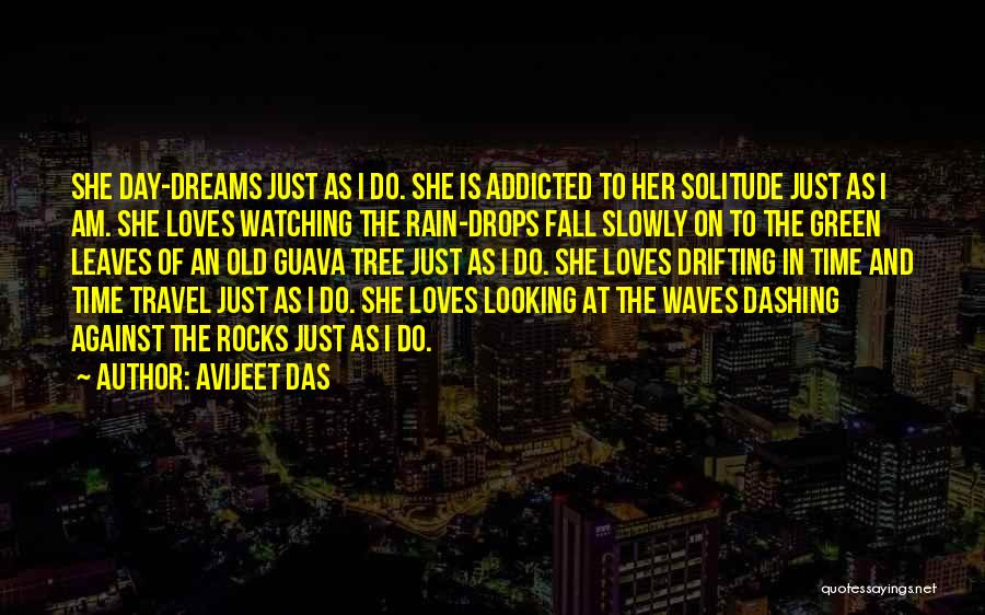 Watching Waves Quotes By Avijeet Das