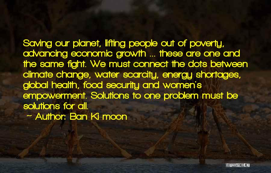 Water And Health Quotes By Ban Ki-moon